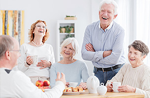 Major Health Benefits of Laughter for Seniors