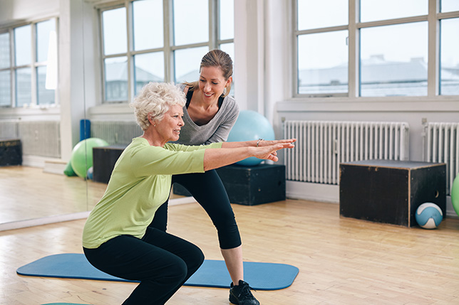 Leg Exercises for Older Adults