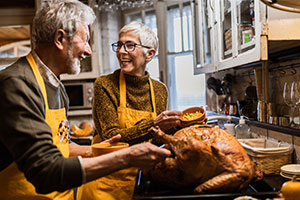 Celebrating Thanksgiving When Living in a Retirement Community