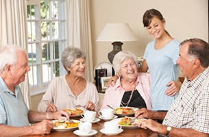 What are the Different Senior Living Options at The Holiday?
